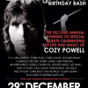 TRIBUTE TO COZY POWELL Birthday Bash