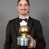 Zlatan Ibrahimovic a été élu Ballon d'Or suédois pour la 12ème fois hier soir