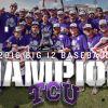 TCU Champions 2016 baseball