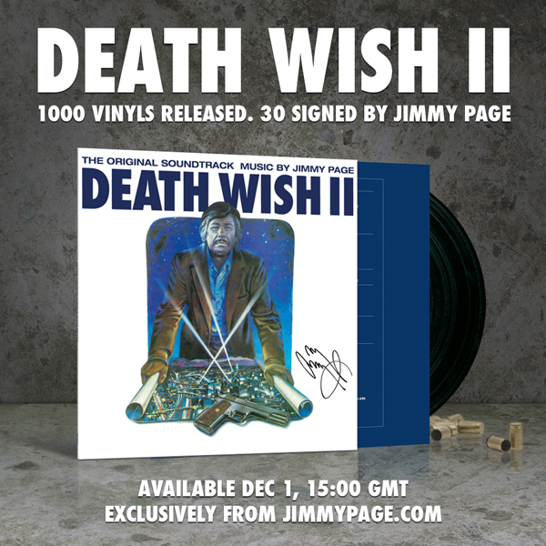 "Death Wish II Collectors' Edition 12"" vinyl release information"
