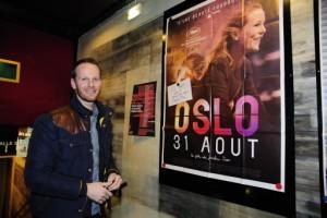 Joachim Trier a dédicacé l'affiche de son film
