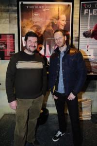 Joachim Trier et Stéphane Goudet (le gérant du Cinéma Le Méliés)