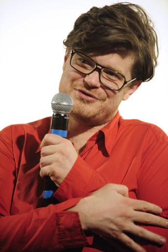 David Dusa face à son public