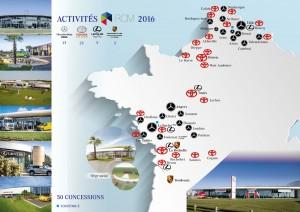 1. Carte des activités RCM