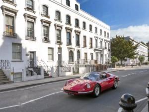 1973 Ferrari 246 Ddino GTS_Led Zeppelin_Peter Grant_COYS Fontwell House (Ph Martyn Goddard)_1