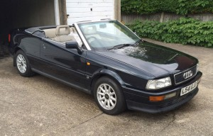 1994 Audi Cabriolet_Diana Princes of Wales_Coys Blenheim Palace 2017