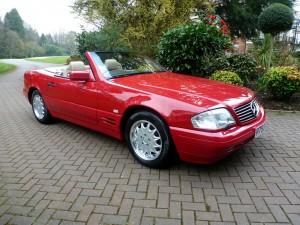 1996 Mercedes Benz SL500_COYS_Spring Classics (1)