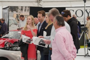 Bidders at Coys Blenheim 2016