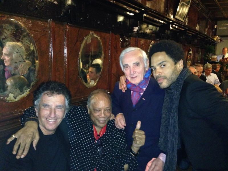 Photo du jour QUINCY JONES à PARIS