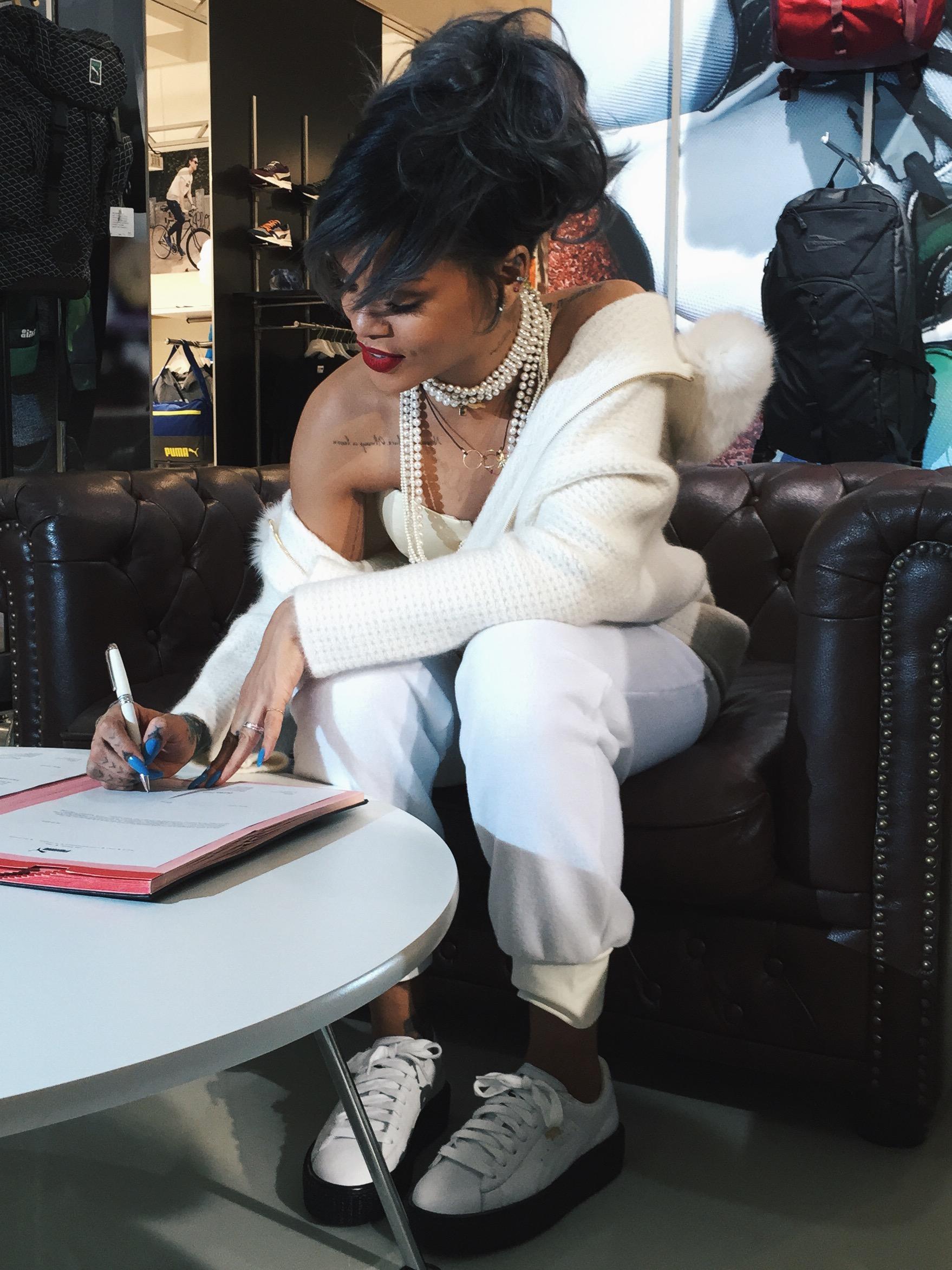 Suede Puma Rihanna