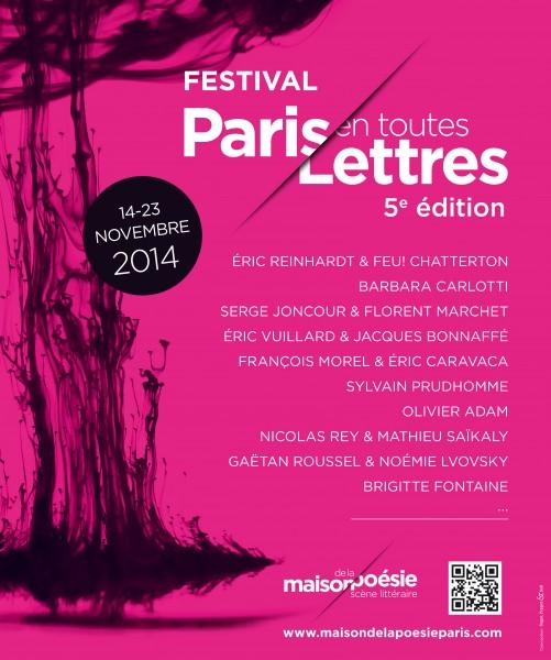 Affiche PARIS EN TOUTES LETTRES