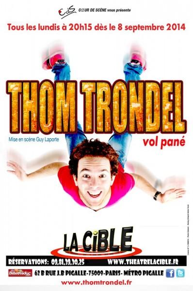 Affiche Thom Trondel