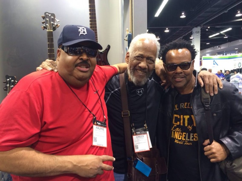 RALPHE ARMSTRONG CHUCK RAINEY FREDDY WASHINGTON