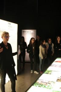 Visite exposition design