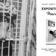 "Galerie Alberto Linero 1/ L'exposition"" Maurice Renoma, Modographe ""à laGalerie […]"