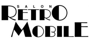 logo retro noir