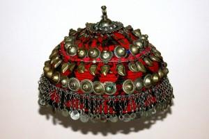 bonnet de mariage - Ouzbékistan