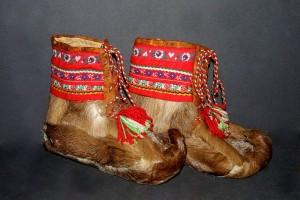 chaussure peau de renne - Laponie
