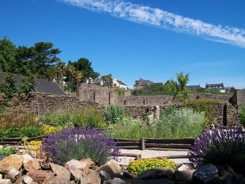 Musée-ancienne-abbaye-Landevennec-Le jardin de simples