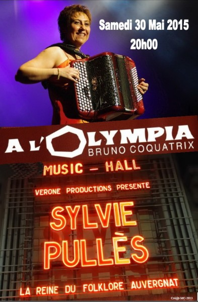 Sylvie Pullès oLympia 30 mai 2015