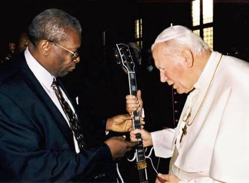 bb king et le pape