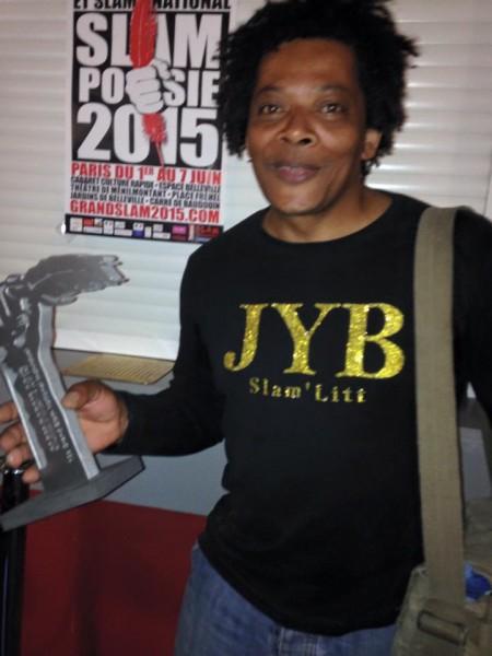 JYB champion de France de Slam Poésie GSN 2015