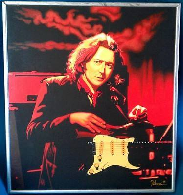 peinture de rory gallagher