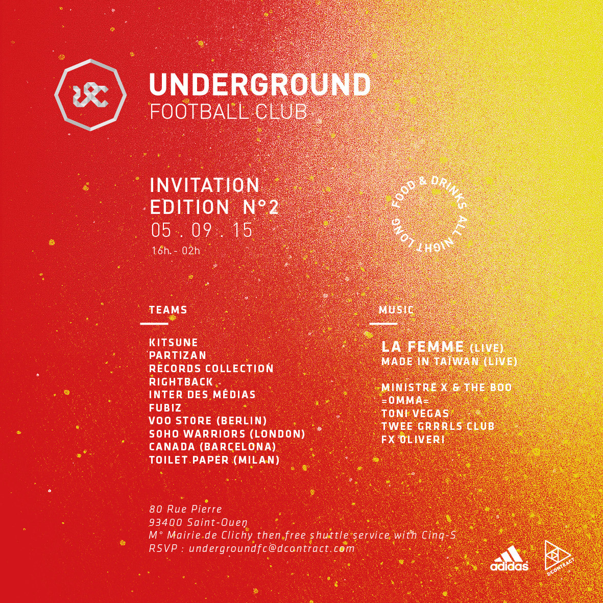 Oconnection - Invitation Underground Football Club Party (1)