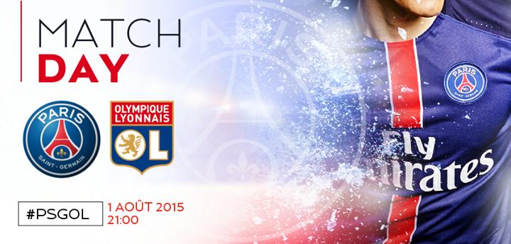 LYON 0 PSG 2  Trophée des Champions