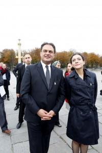 Ambassador of Egypt and Milene Guermont