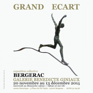 GRAND ECART EXPOSITION COLLECTIVE GALERIE B. GINIAUX NOV 2015