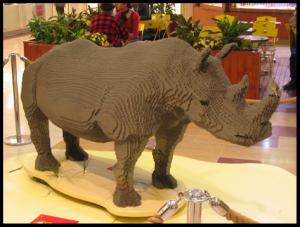 Animals - Rhinoceros 120 cm