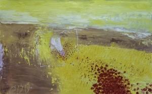 Serge Goulet - peinture - Ah ah Les coquelicots - bd