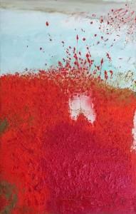 Serge Goulet - peinture - Ah ah ah Les coquelicots - bd