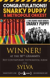 awards snarky puppy