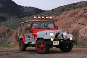 Jeep Wrangler Jurrassik Park©FFVE
