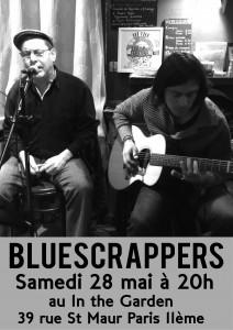 affiche bluescrappers 28 mai 2016 (1)