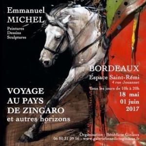 Exposition 2017. Emmanuel Michel. Bordeaux.