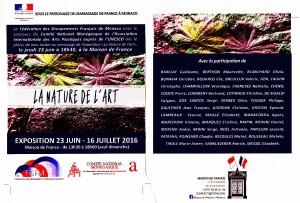 Flyer Maison de France Nature de l'Art_20160611