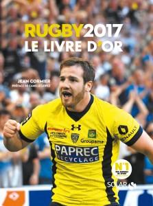 Visuel de couverture livre d'or rugby 2017