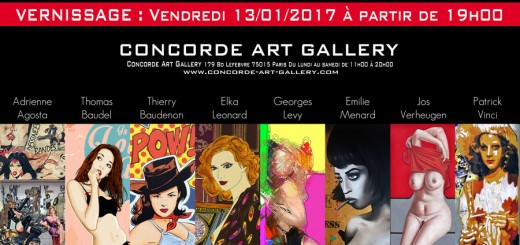 Invitation Concorde Art Gallery