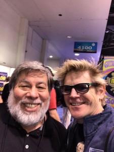 namm 2017 Mr. Apple 2 ... Steve Wozniak !