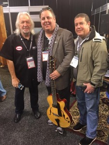 namm 2017 Seymour Duncan! With Dave Miner.