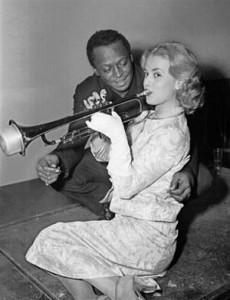 jeanne moreau et miles davis 1957 4