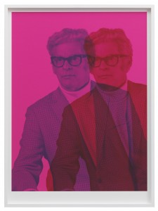 Rodney Graham, Canadian Humourist - Pink, 2012, collection du frac île-de-france © Rodney Graham